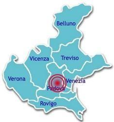 Mappa sismica Padova