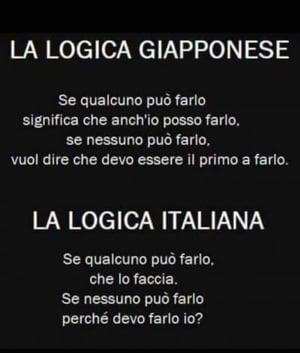 logica giappone vs logica italiana