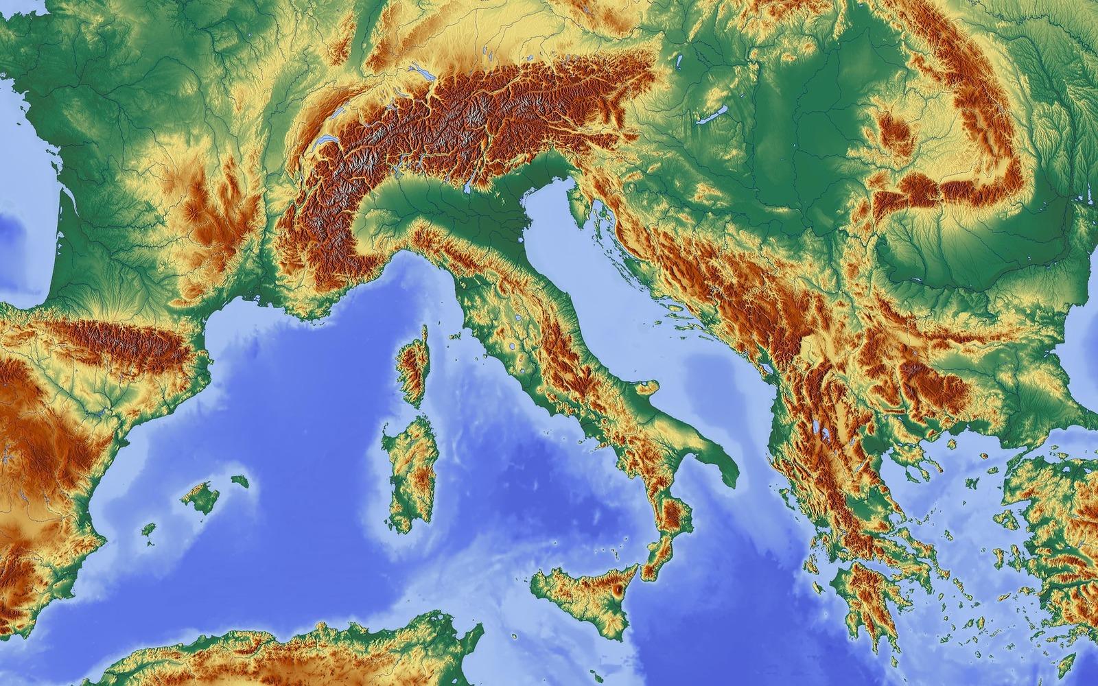 Cartina Italia Terremoti.Il Grande Problema Della Mappa Sismica Italiana